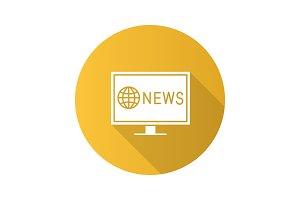 TV news icon