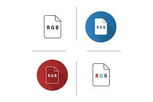 RGB model icon