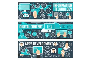 Information technology data banners