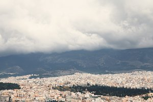 over Athens 2.