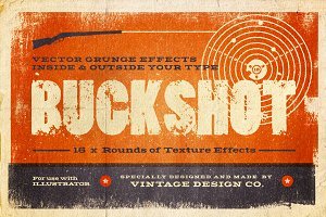 BUCKSHOT Vector Type Effects
