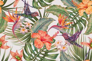 Tropical exotic pattern