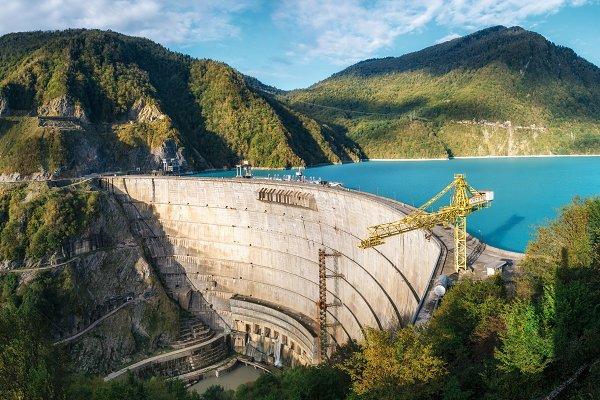 Enguri hydroelectric power station
