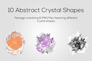 Abstract Crystal Shapes