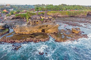 Tanah Lot - Temple in the Ocean