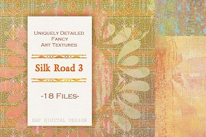 Silk Road 3:  Grungy Boho Paper