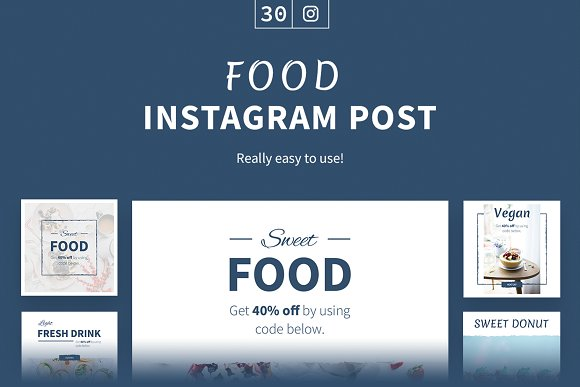 Food Instagram Posts