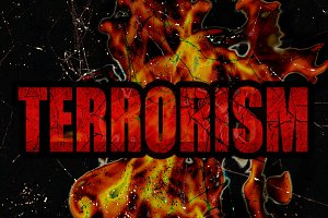 Terrorism Graphic Concept Background