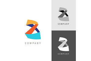Logo design element. Eight. Infinity