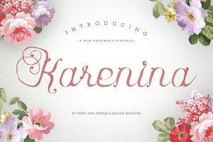 Karenina Font + Cute Vectors