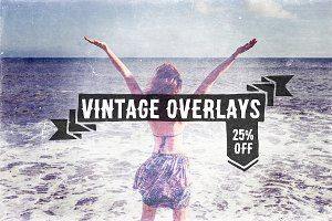 Vintage Overlays Pack (25% OFF!)