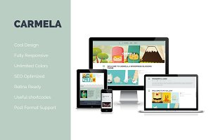Carmela - Responsive WordPress Theme