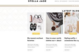 Wix Template | Influencer + Blogger