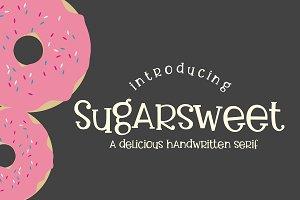 Sugarsweet Handwritten Serif