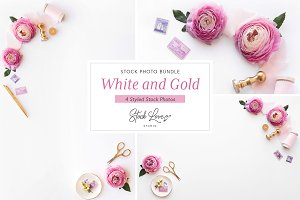 Pink Stationery Mockup Bundle