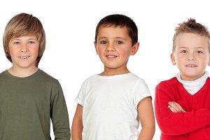 Three partner boys