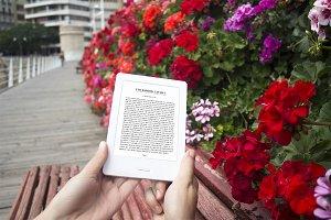 E-book Reader, MockUp