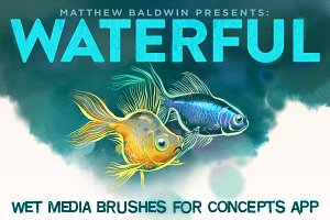 WATERFUL: Concepts App Brushes