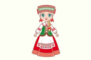 doll in the Belarusian suit