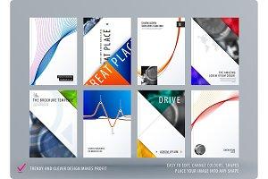 Brochure design soft template