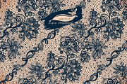 Seamless lace patterns with flower