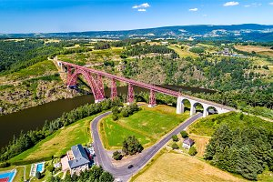 Garabit Viaduct, a railway bridge