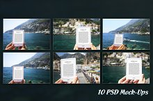 E-Book Reader,10 PSD Mock-Ups,BUNDLE