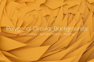 Polygonal Circular Backgrounds