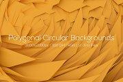 Polygonal Circular Backgrounds