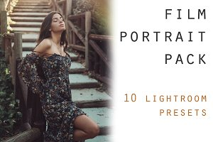 10 film portrait lightroom presets