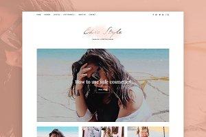 Chic Style - Minimal WordPress Blog