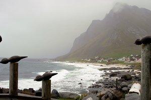 Dramatic Art of Lofoten islands