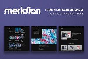Meridian - Portfolio WordPress Theme