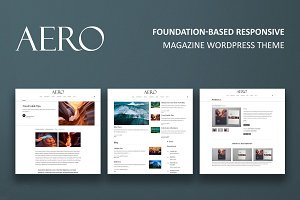Aero - Magazine WordPress Theme