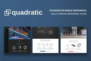 Quadratic - Milti-purpose Theme