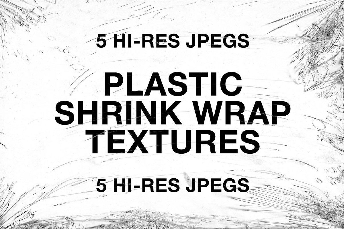 5 Plastic Shrink Wrap Textures in Textures - product preview 8