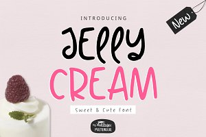 Jelly Cream Font