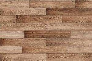 Seamless brown parquet texture