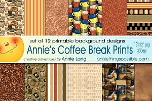 Annie's Coffee Break Prints