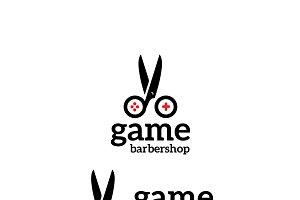 Barbershop Game Logo