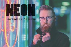 NEON - Photoshop Actions