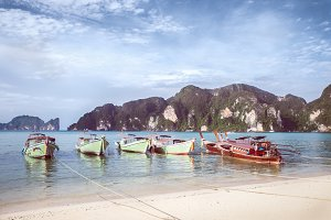 Phi Phi Don. Thailand