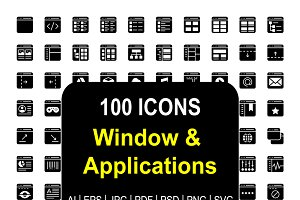 Window & Application Glyphs