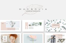 Magnolia PowerPoint Presentation by  in Presentations