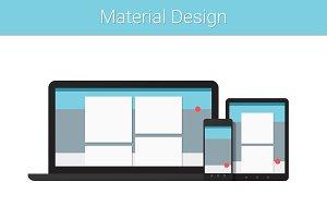 Material Design Gadgets