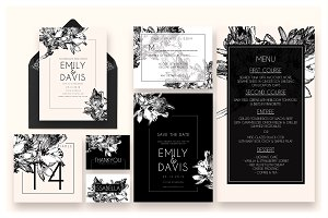 Classic Wedding Invitati Suite Ac.36
