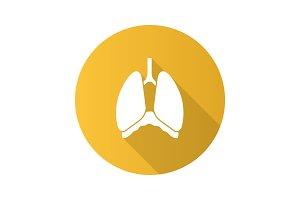 Thoracic cavity icon
