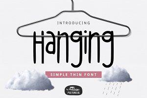 Hanging Font