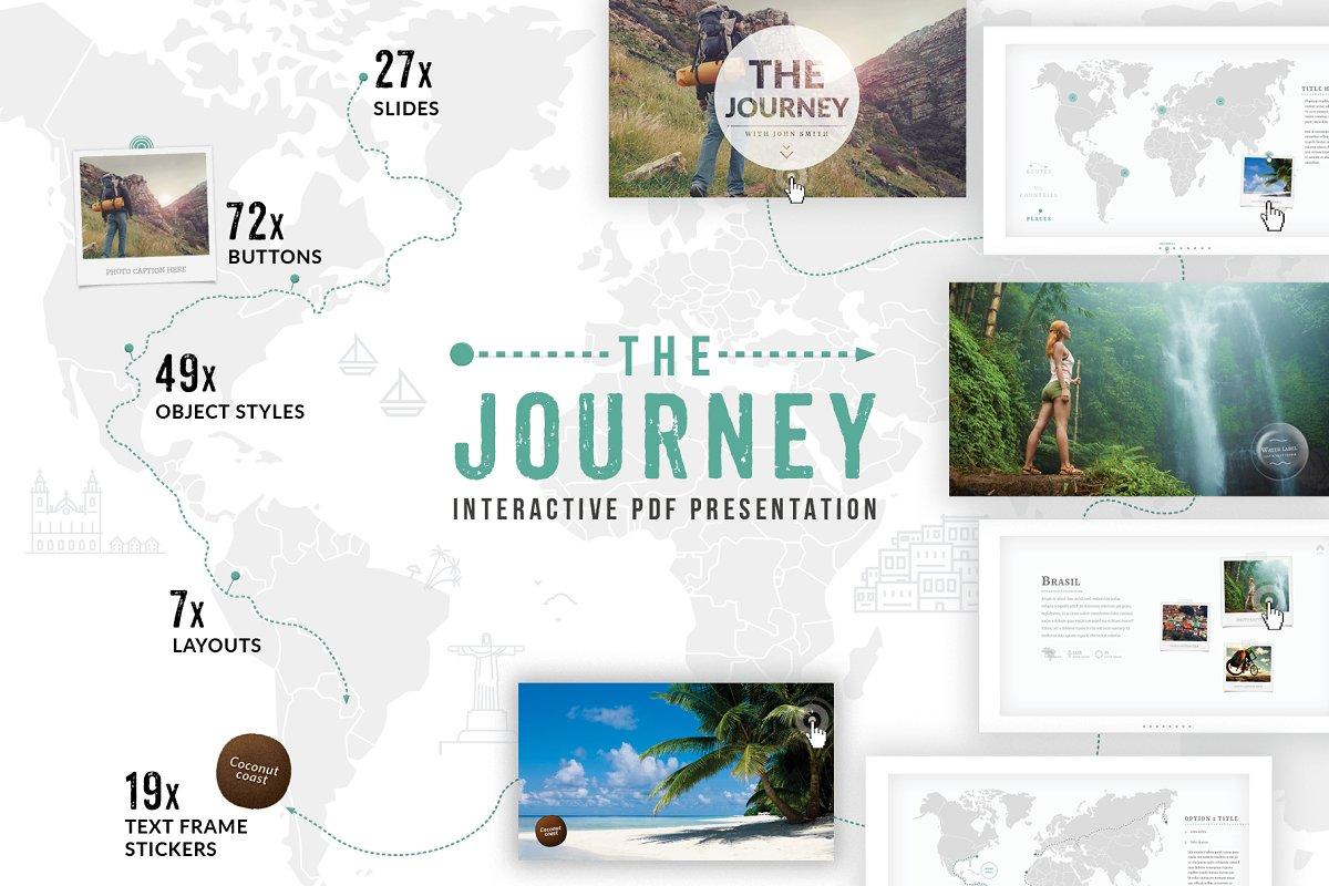Interactive PDF Journey Presentation ~ Other Presentation Software
