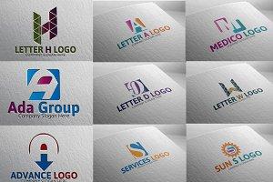 9 Letter Logo pack (BIG BUNDLE )